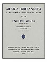 English Songs 1625-1660 Sheet Music