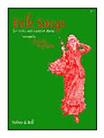 Folk Songs for Voice and Harp (or Piano) Sheet Music