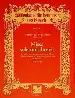 Missa solmenis brevis Sheet Music