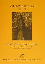 Holler: Praludium fur Orgel / Kuntz: Silvesternacht Sheet Music