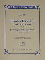 Exsulta filia Sion Sheet Music
