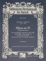 Missa ex D Sheet Music