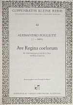 Ave Regina coelorum Sheet Music