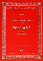 Sonata a 3 Sheet Music