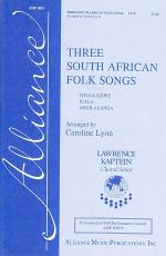 Three South African Folk Songs Sheet Music