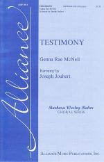 Testimony Sheet Music