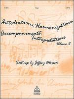Introductions, Harmonizations, Accompaniments, Interpretations, Vol. 5 Sheet Music