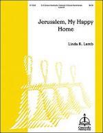 Jerusalem, My Happy Home Sheet Music