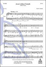 Jesus Is Born Tonight Sheet Music