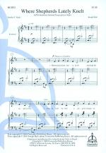 Where Shepherds Lately Knelt Sheet Music