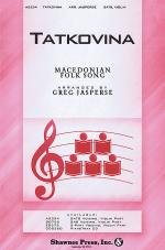 Tatkovina Sheet Music