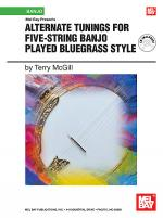 Alternate Tunings for Five-String Banjo Played Bluegrass Style Book/CD Set Sheet Music