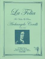 La Folia Sheet Music