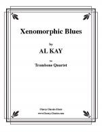 Xenomorphic Blues for 4 Trombones Sheet Music