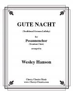 Gute Nacht, German lullaby Sheet Music
