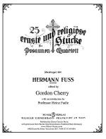 25 Serious & Religious Chorales Sheet Music