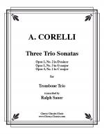 3 Trio Sonatas Sheet Music