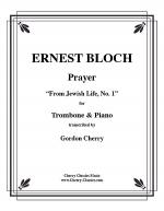 Prayer for Trombone & Piano Sheet Music