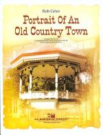 Portrait of an Old Country Town Sheet Music
