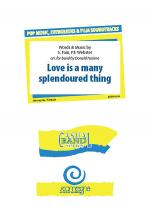 Love Is A Many Splendoured Thing Sheet Music