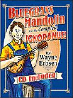 Bluegrass Mandolin For The Complete Ignoramus! Book/CD Set Sheet Music