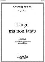 Largo ma non tanto (J.S. Bach) Sheet Music