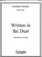 Written in the Dust Sheet Music