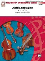 Auld Lang Syne (Score only) Sheet Music