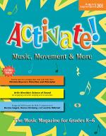 Activate! Aug/Sept 08 Sheet Music