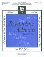 Resounding Alleluias - Handbell Score Sheet Music