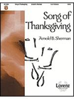 Song of Thanksgiving Sheet Music