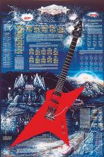 Rock Guitar Poster Sheet Music