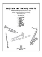 They Can't Take That Away from Me Sheet Music