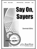 Say On, Sayers Sheet Music