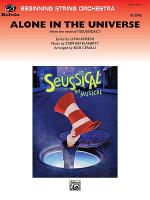 Alone in the Universe (from Seussical the Musical) Sheet Music