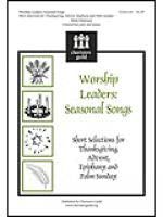 Worship Leaders: Seasonal Songs Sheet Music