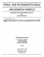 Fuga Con Un Soggetto Solo Sheet Music