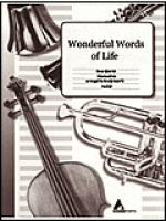 Wonderful Words of Life Sheet Music