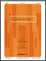 Once for All Sheet Music