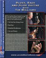 Blues, Rags and Slide Guitar DVD Sheet Music