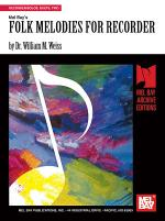 Folk Melodies for Recorder Sheet Music