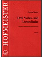 Drei Lieder Sheet Music