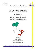 La Corona D'Italia (Tuba Quartett) Sheet Music
