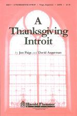A Thanksgiving Introit Sheet Music