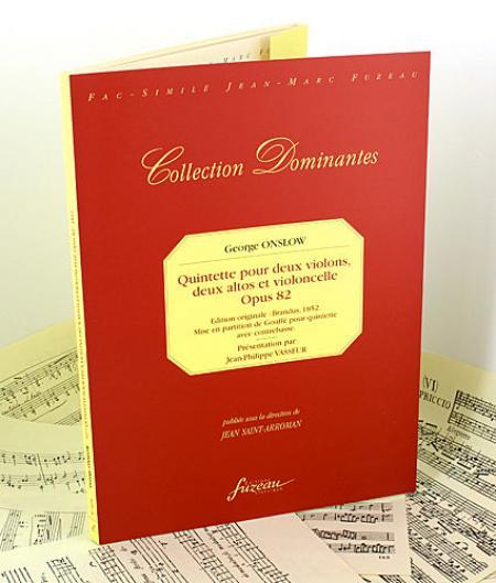 34e quintette pour deux violons, deux altos et violoncelle - Opus 82 Sheet Music