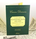 Six solos for a flute an a bass - Opu V, parte 2da Sheet Music