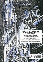 Trois ragtimes Sheet Music