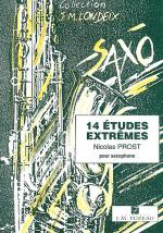 14 etudes extrimes Sheet Music