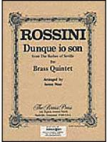 Dunque io son (Barber of Seville) Sheet Music