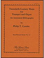 20th Century Music for Trumpet and Organ Sheet Music
